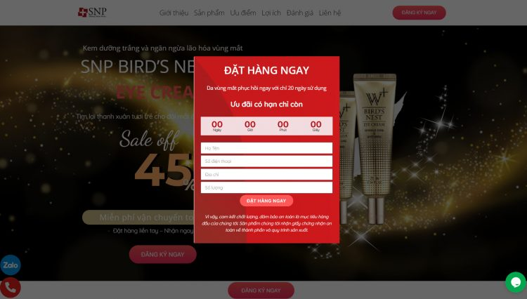 Simple Page ra mắt tính năng Giỏ hàng trực tuyến đặt hàng ngay trên Landing Page