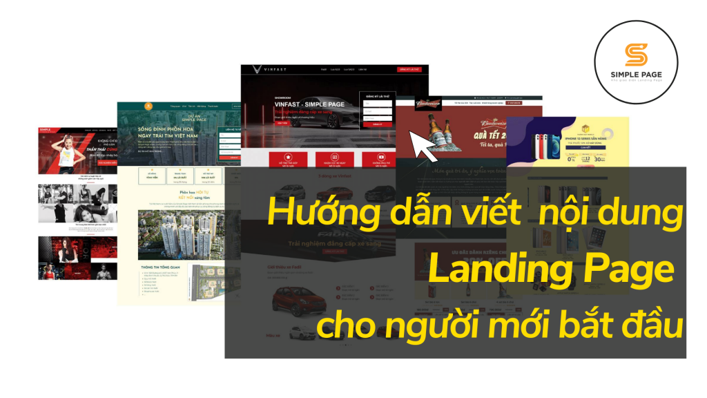Hướng dẫn viết nội dung Landing Page cho người mới bắt đầu