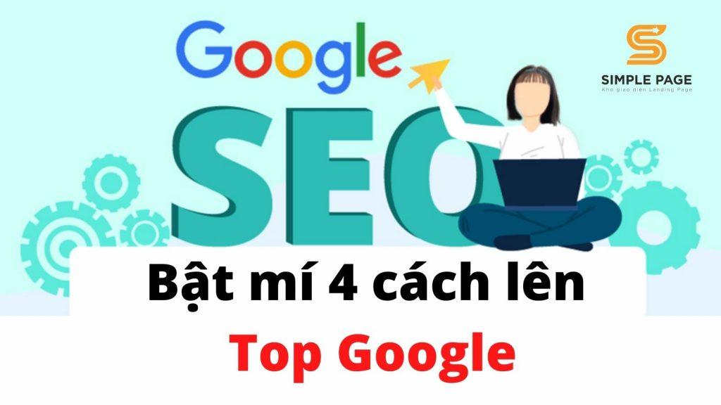 Cách lên top google
