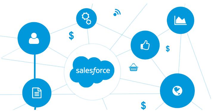 Quản lý dễ dàng với hệ thống SalesForce