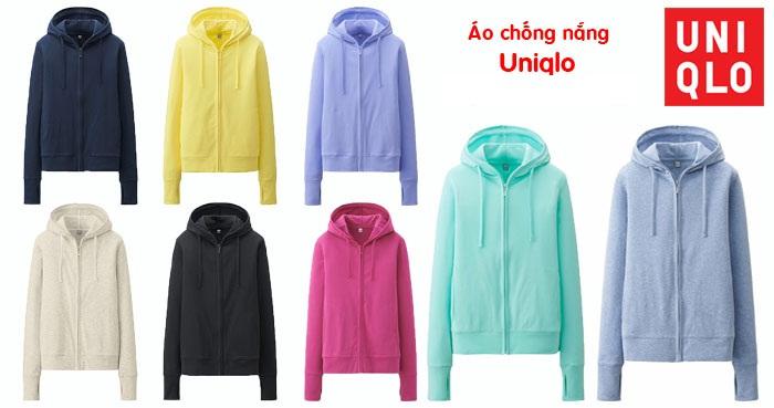 Bảng màu áo chống nắng Uniqlo cho chị em tham khảo khi có nhu cầu – Blog thời trang chống nắng Hinlet