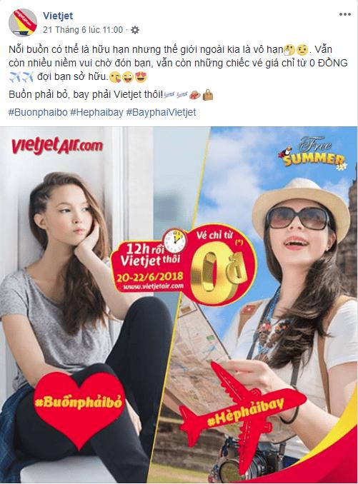 Mẫu bài viết quảng cáo