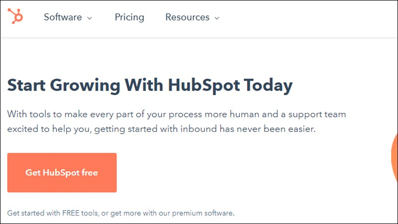 Phần mềm HubSpot CRM