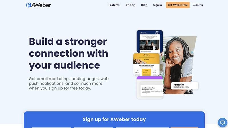 Phần mềm AWeber